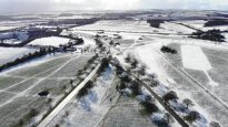 Beverley Westwood - Drone Footage of Snow