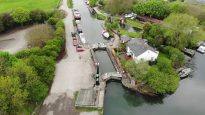 Drone Footage of The River Hull and Beverley Beck - We Found a Submarine